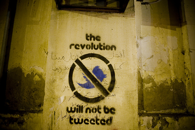 The-Revolution-Will-Not-Be-Tweeted.-Cairo-2011.