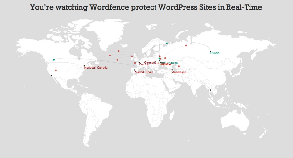 WordFence-Map