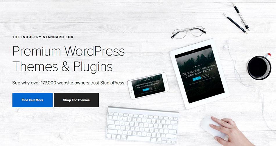 Speed Up WordPress StudioPress