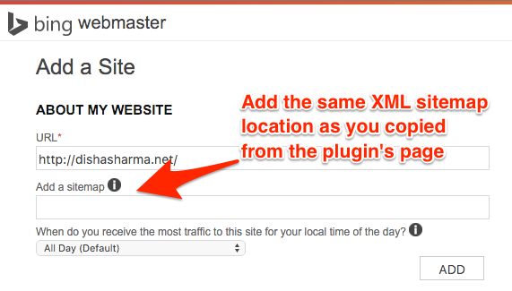 XML pluggins page