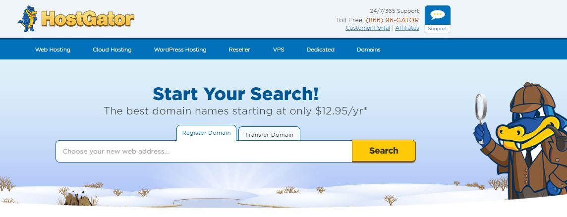 hostgator-best-domain-registrars