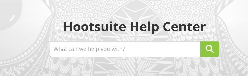 Hootsuite Help Desk