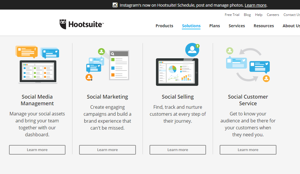 Hootsuite-Social-media-business-solutions