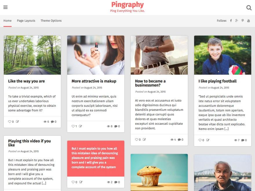 pingraphy