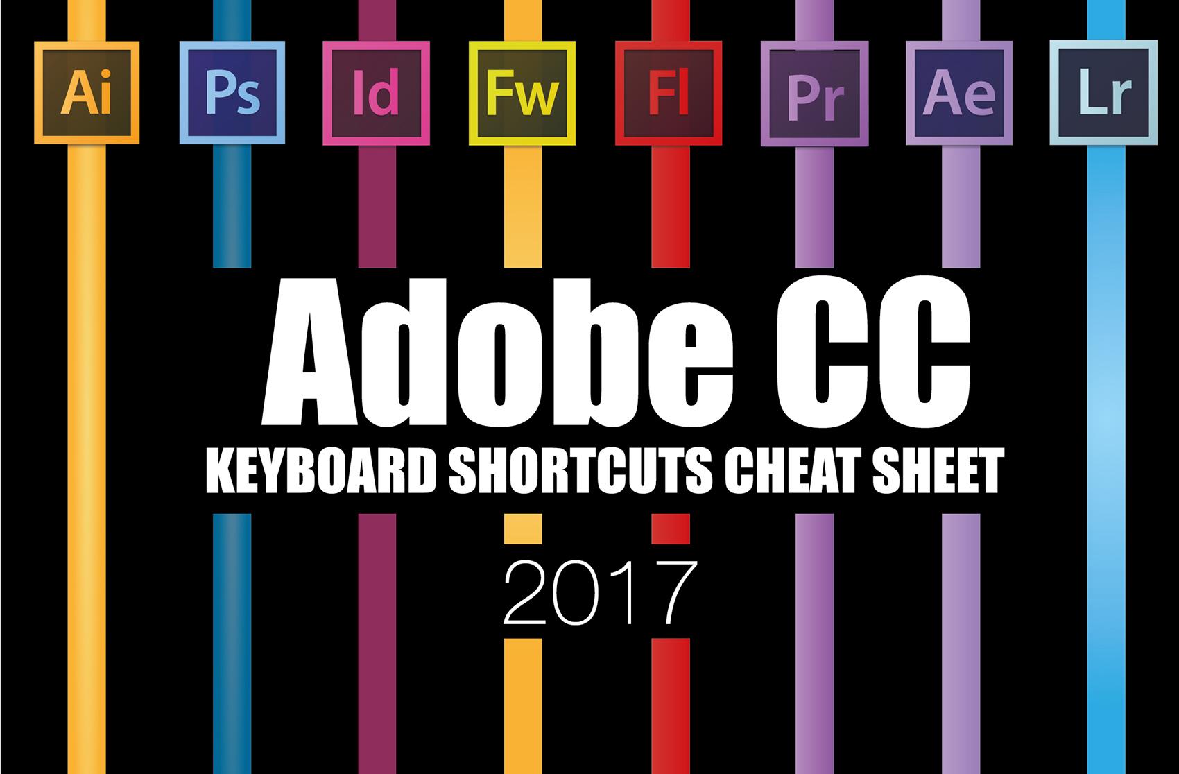 Keyboard Shortcuts Cheat Sheet 2017