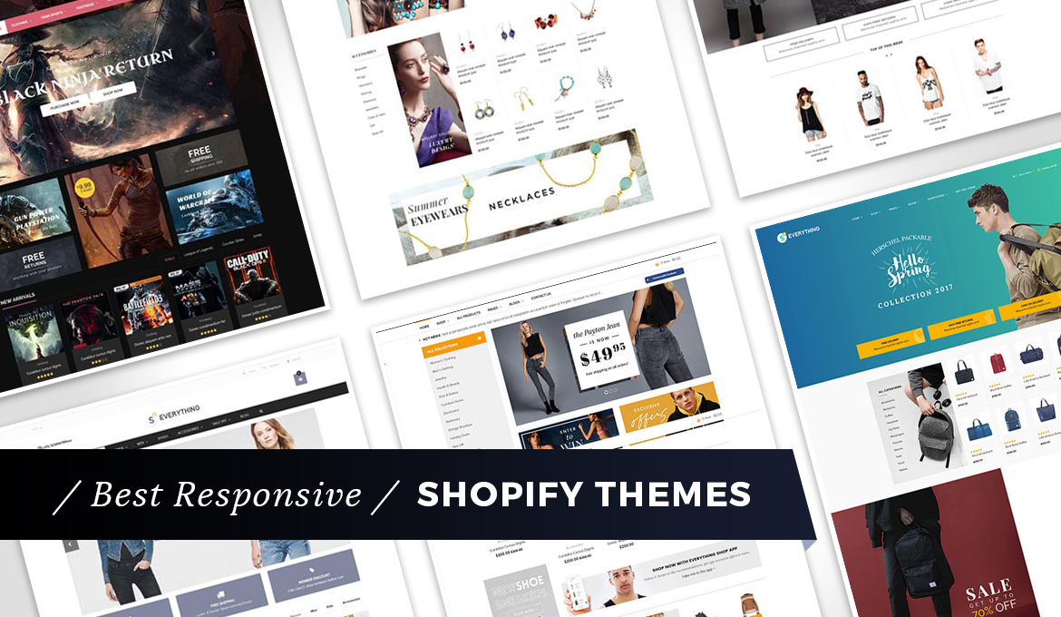 21 Best Responsive Shopify Themes for 2019 - Make A Website Hub