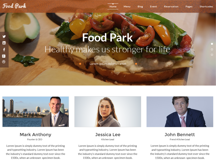 food-park-free-wp-theme