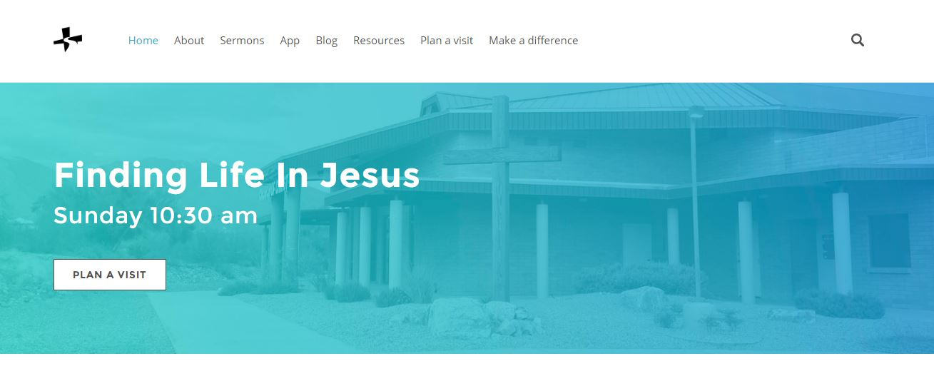 church-weebly-website