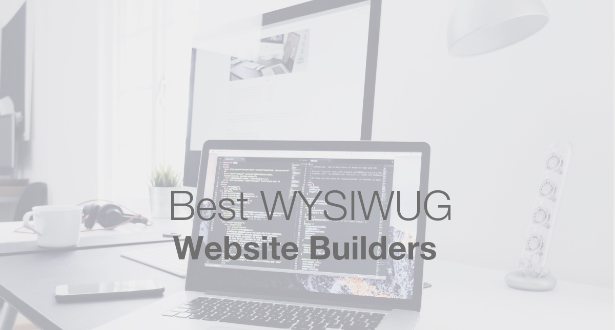 Are These The Best Wysiwyg Website Builders Of 2020