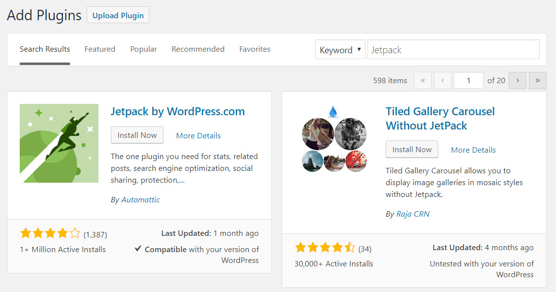 Using Jetpack on Your Self Hosted WordPress Website