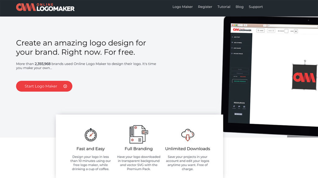 Best Free Logo Makers Generators 2020 Guide To Creating Your Own Logo Make A Website Hub