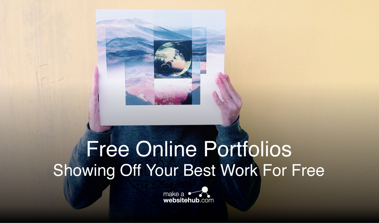 Best Free Online Portfolio Creators 2020 Showing Off