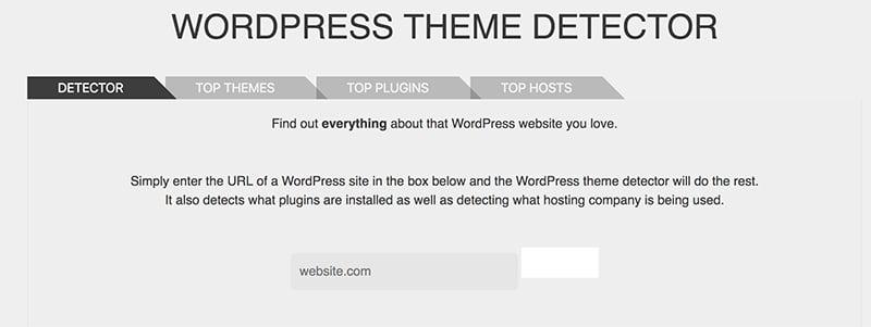 Bir Sitenin Hangi WordPress Temasını Kullandığını Nasıl Öğrenebilirim?