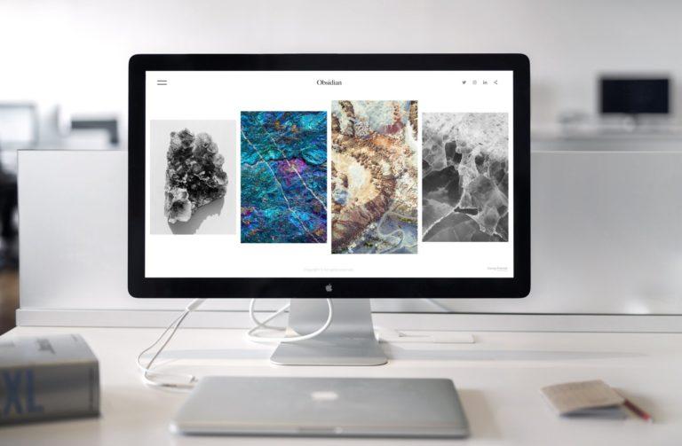 make an online portfolio