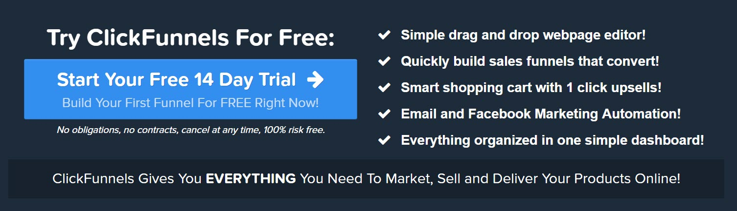 Not known Details About Clickfunnels 30 Day Trial