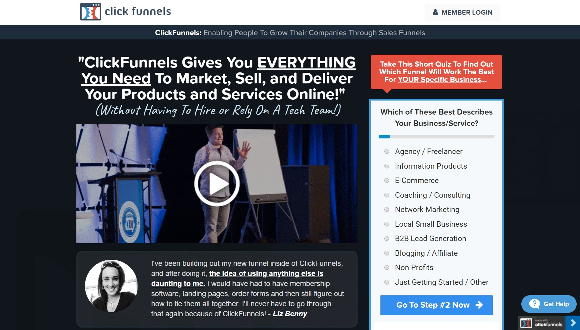 Some Known Details About Clickfunnels Sales Page
