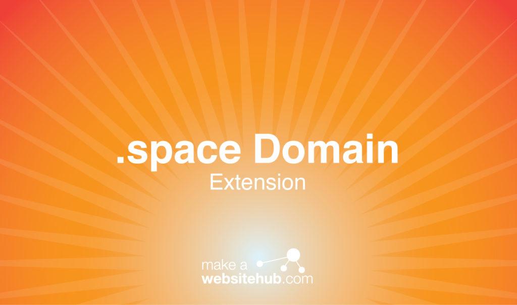 dot space domain name
