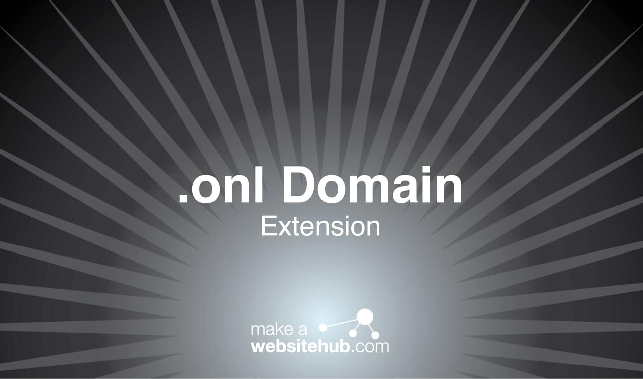 .onl domain name extension