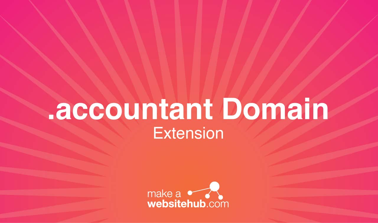 accountant domain name extension
