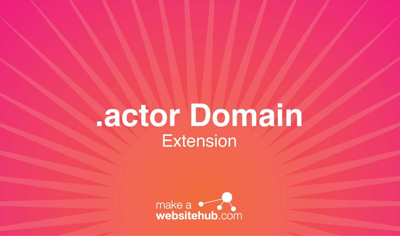 actor domain