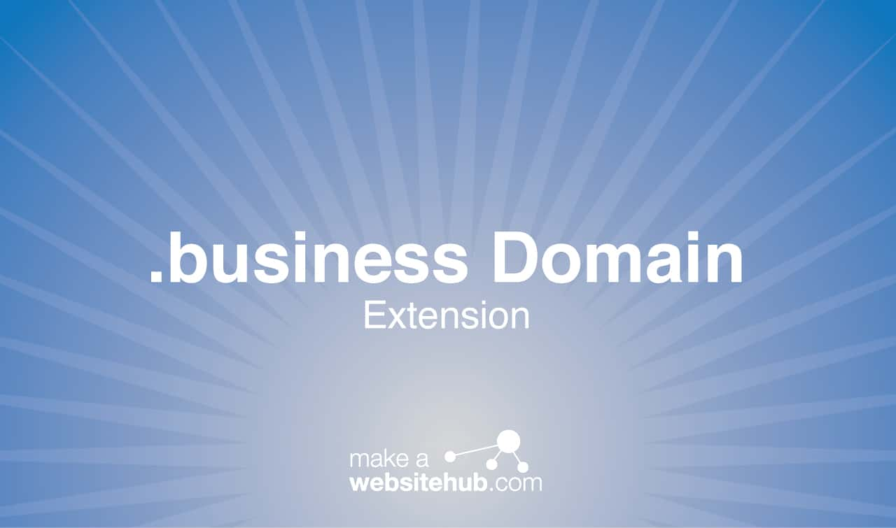 .business domain name extension