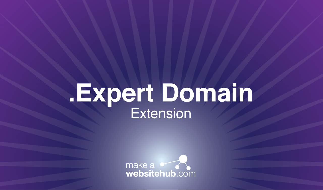 expert domain name extension