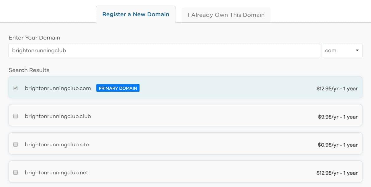 HostGator registra un nome di dominio