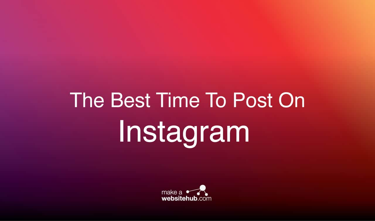 best times to post on instagram 2020