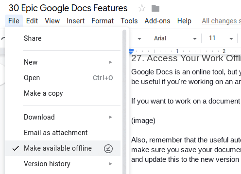 30 Epic Google Docs Tips And Features You Need To Be Using