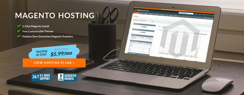 web hosting hub magento hosting