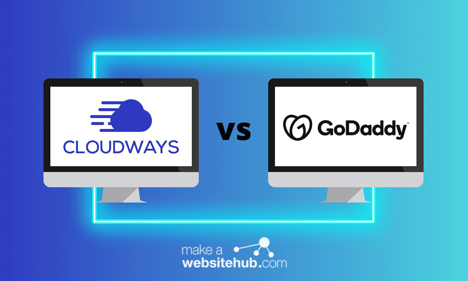 cloudways vs godaddy header image